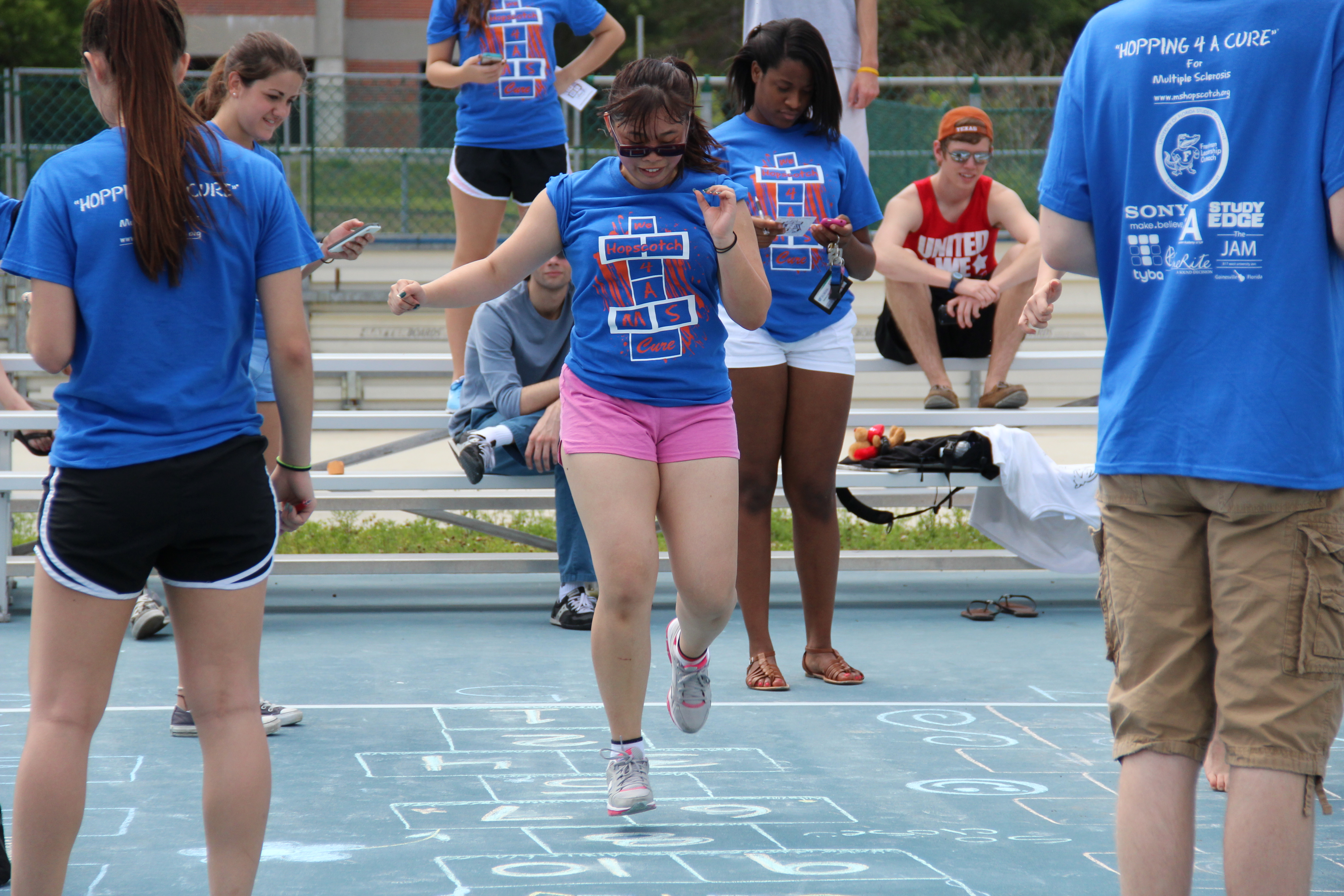 Hopping 4 A Cure Endurance Hopscotch